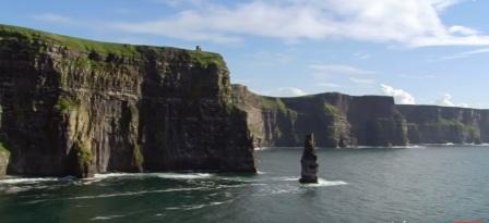 tempat wisata terindah di dunia .  KLIFAN DARI MOHER
