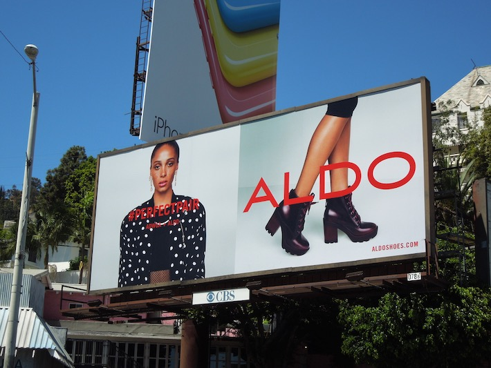 Adwoa Aboah Aldo Shoes Perfect Pair FW14 billboard