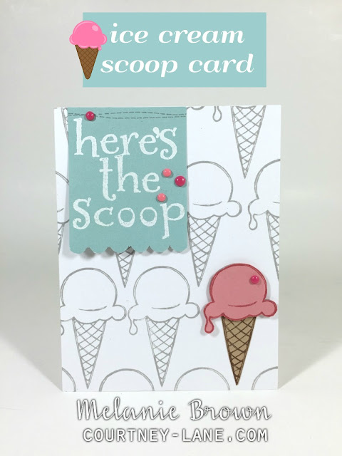 Here's the Scoop card