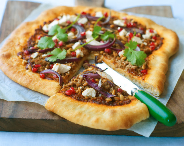 LEBANESE LAMB PIZZA