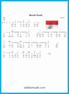 not angka merah putih lagu wajib