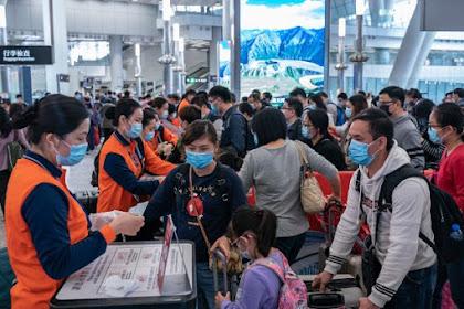 Ribuan Orang Berbondong-bondong Tinggalkan Wuhan, Saat Lockdown Dicabut.