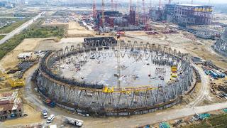 Bau des Kernkraftwerks Kursk-2