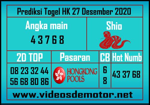 Angka Main HK 27 hari ini