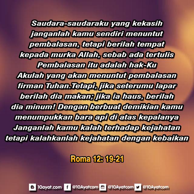 Roma 12: 19-21
