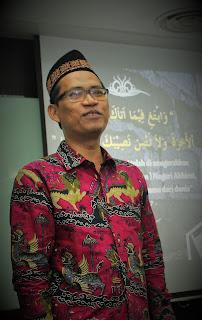 azharuddin lathif dosen UIN yang hadir sebagai pembicara