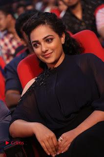 Nithya Menon Latest Stills at at Janatha Garage Movie Audio Launch  0085.JPG