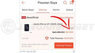 Cara Mendapatkan Flash Sale Shopee iPhone