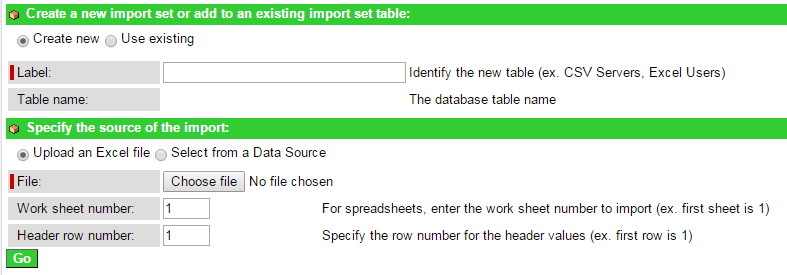 ServiceNow Import Sets and Tables - Fetching data from Outside Sources
