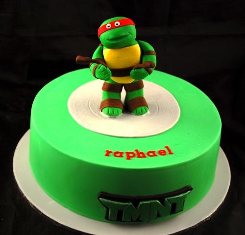 Zels Cakes TMNT Turtles Cake