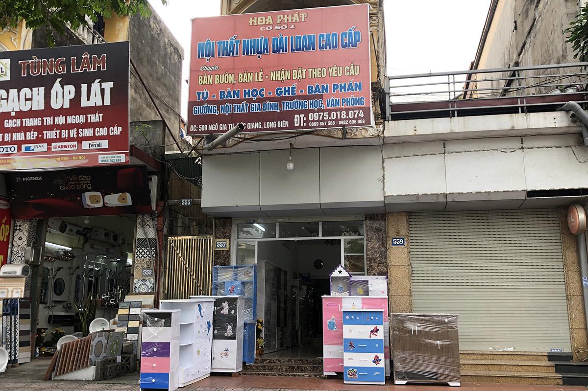 Cửa hàng nội thất nhựa Đài Loan Hoa Phát ở 509 Ngô Gia Tự