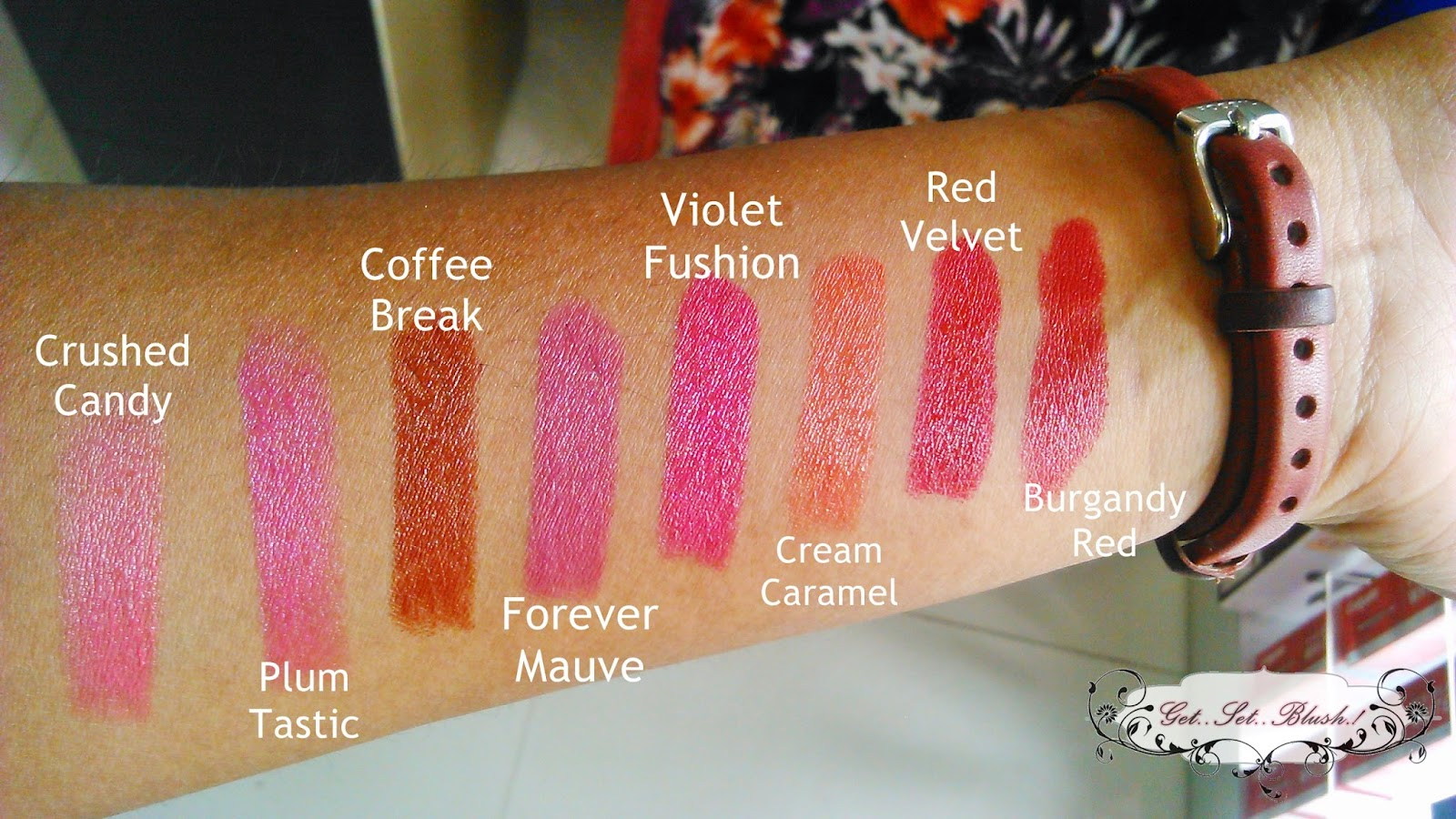 027c8d4c9b9 Maybelline Colorshow Lipsticks - All Swatches