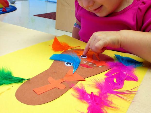 Preschool Turkey Body Parts