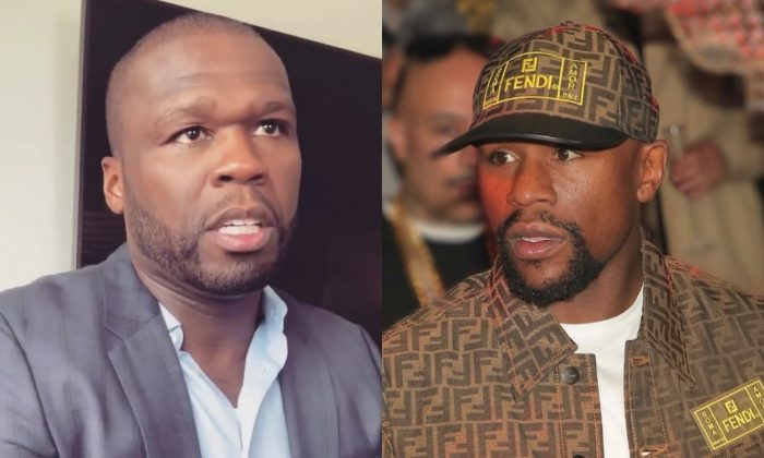Floyd Mayweather 50 Cent Infamous Beef Gets Herbs and Here's Receipts