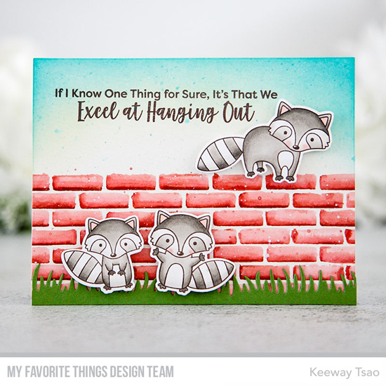 Handmade card by Keeway Tsao featuring products from My Favorite Things #mftstamps
