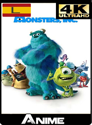 Monster Inc (2001) 4K 2160p UHD HDR Latino [GoogleDrive] dizonHD