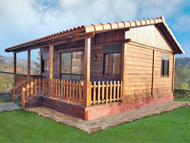 Cantinho feliz muito feliz casas de madeira parte ll for Casas prefabricadas para jardin