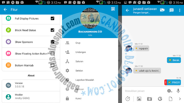 Download BBM MOD Standard Theme v3.0.0.18 apk terbaru