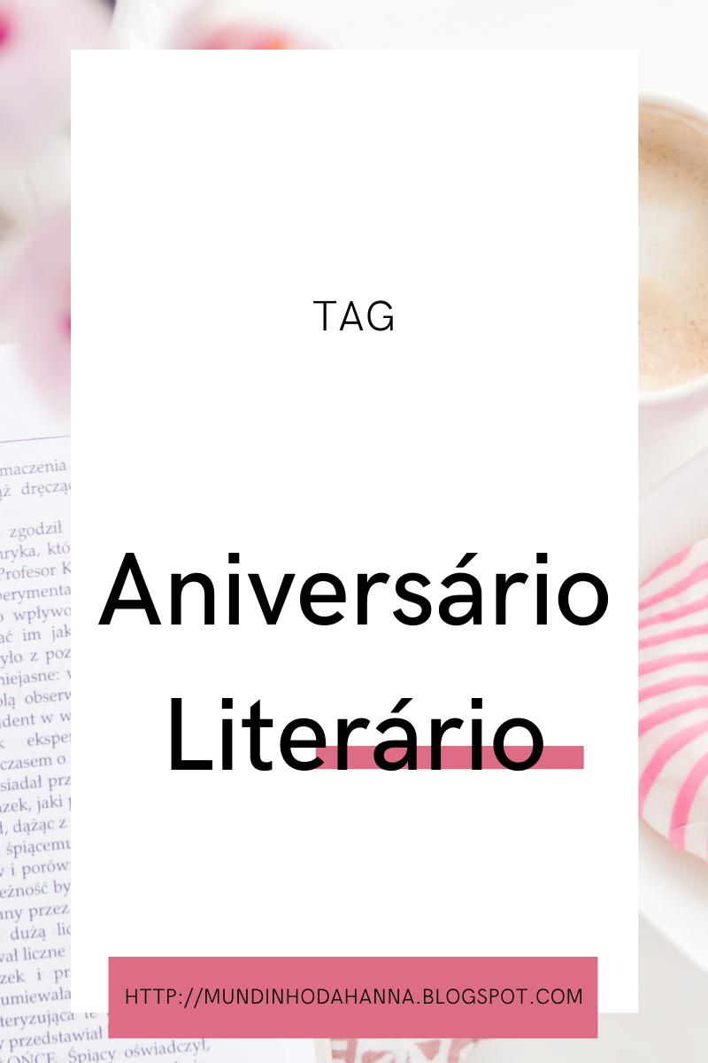 TAG Aniversário Literário