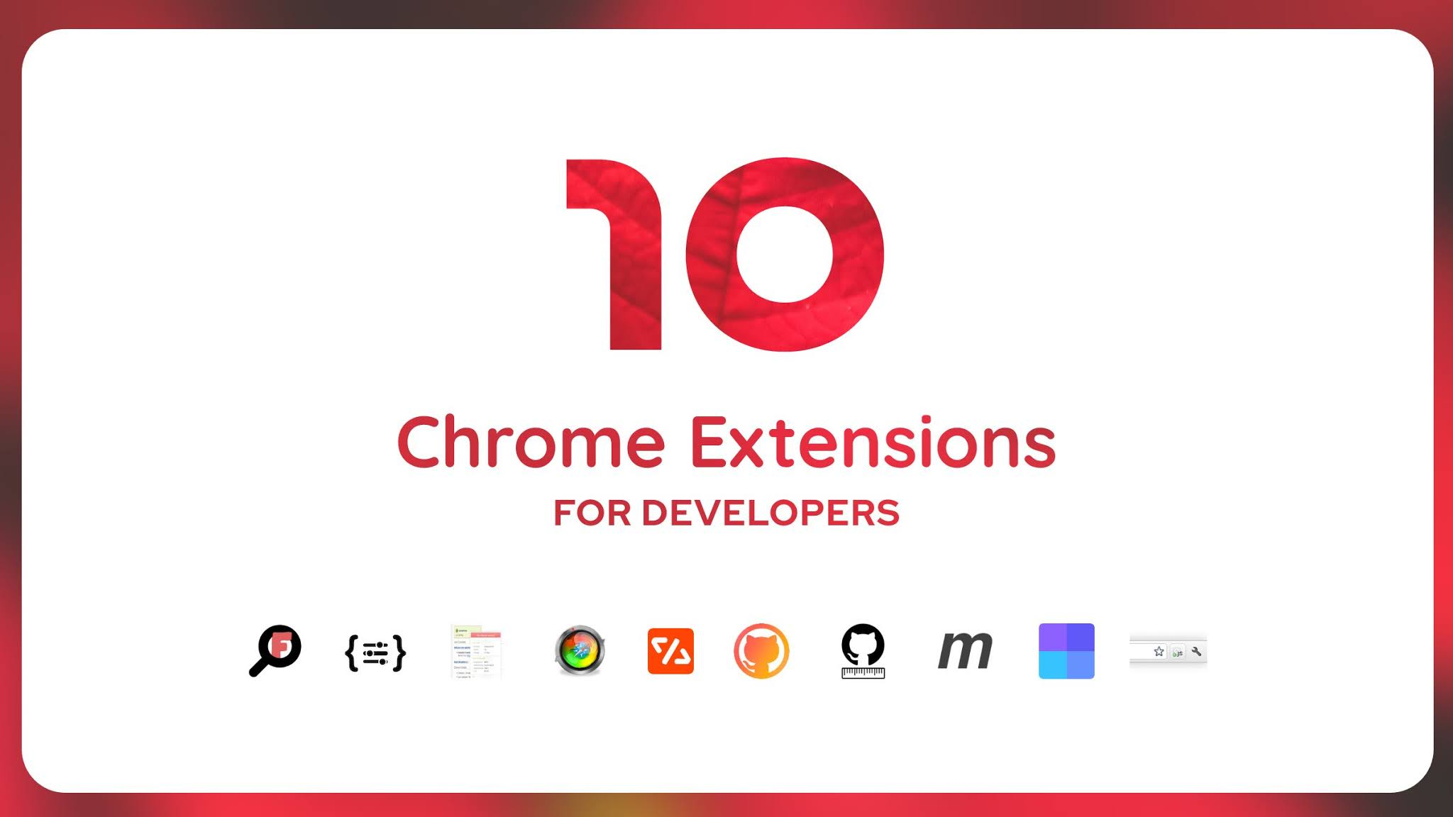Best Google Chrome Extensions For Web Developers