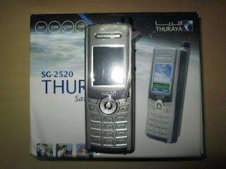 hape seken satelit Thuraya SG-2520