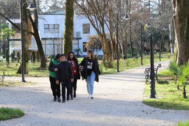 Открылся после реабилитации Ботанический сад Зугдиди
