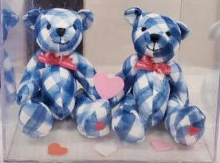 Bath & Body Works | Free with $30 Purchase - Limited Edition Gingham Teddy Bear With Heart on Paw