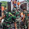 Pangdam Hasanuddin, Instruksikan Satpur Dan Banpur Bersihkan Puing-Puing Pasca  Kebakaran