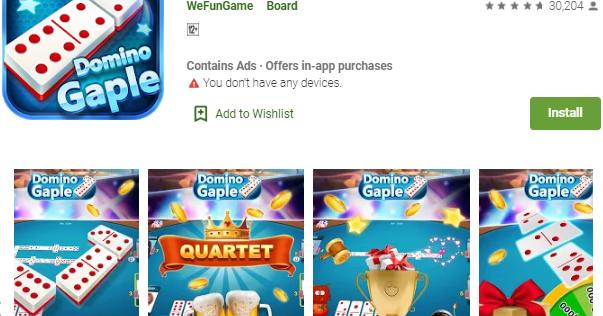 Domino Gaple Online (Free bonus) - Game Domino Online ...