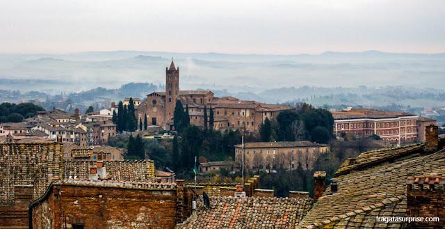 Siena vista do alto da Catedral