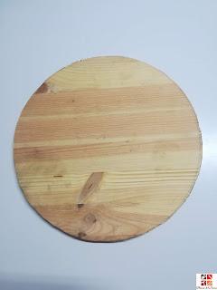 diy reloj de madera