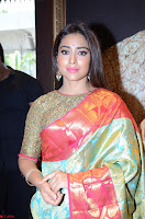 Shriya Saran Looks Stunning in Silk Saree at VRK Silk Showroom Launch Secundrabad ~  Exclusive 127.JPG