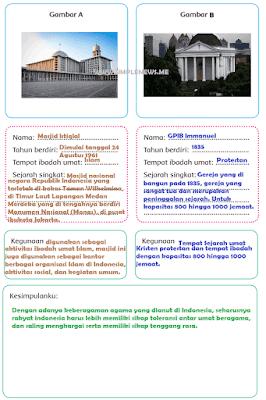 informasi tentang dua tempat ibadah keagamaan www.simplenews.me