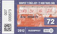 ticket metro budapest