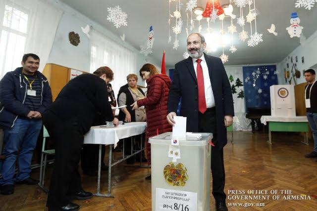 Gana Pashinyan elecciones en Armenia