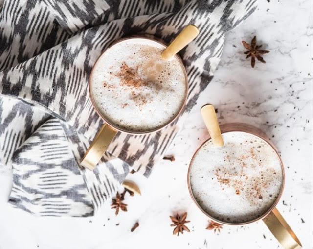 Homemade Chai Tea Latte #drinks #latte