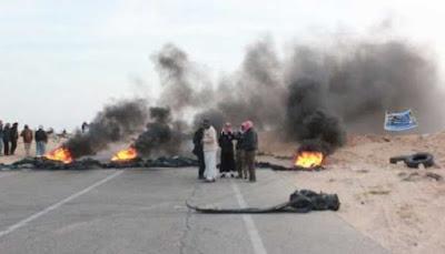 عاجل : العشرات من أهالي كفر الشيخ يقطعون الطريق الدولي لمنع حملة الإزالات من إزالة المباني المخالفة
