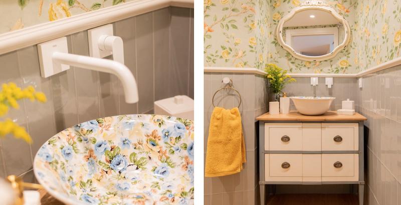 Mueble de baño de estilo vintage