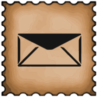 mail stamp icon