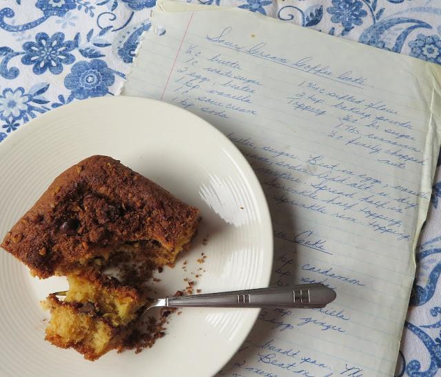 Sour Cream Coffee Cake