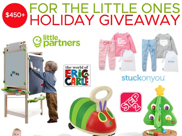 For The Little Ones: A $450+ Holiday Giveaway #HolidayGiftGuide2017