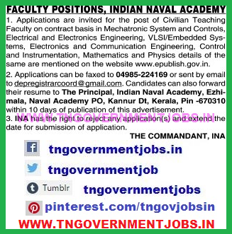 indian-naval-academy-faculty-recruitment-notification-www.tngovernmentjobs.in