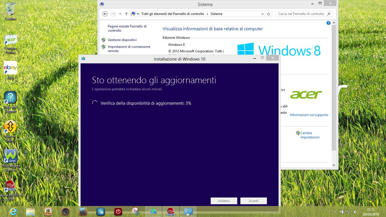 Come mantenere tutte le App e le impostazioni originali di PC Windows 7, 8, 8.1, aggiornando a Windows 10 2 HTNovo
