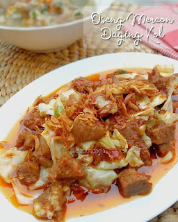 Resep Masakan Oseng Mercon Daging Kol By @elabundaela