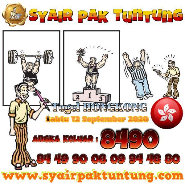 Syair HK Sabtu 12 September 2020 -