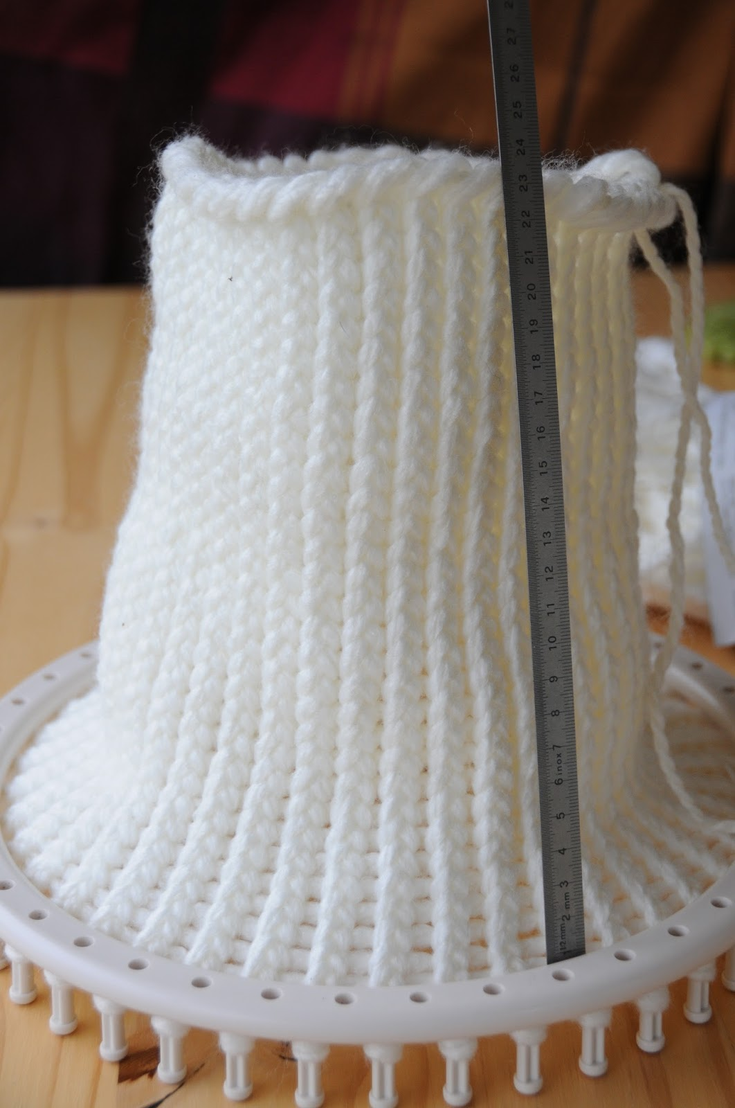 tricotin bonhomme