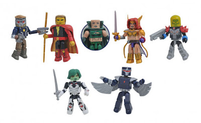 Guardians of the Galaxy Marvel Minimates Series 79 Mini Figures by Diamond Select Toys
