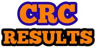 CRC RESULT 2019