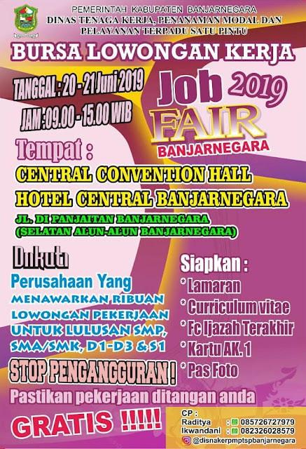 Job Fair Banjarnegara, Jawa Tengah