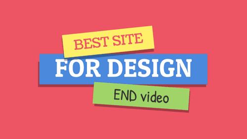 افضل موقع لتصميم نهايه فيديو احترافيه لليوتيوب